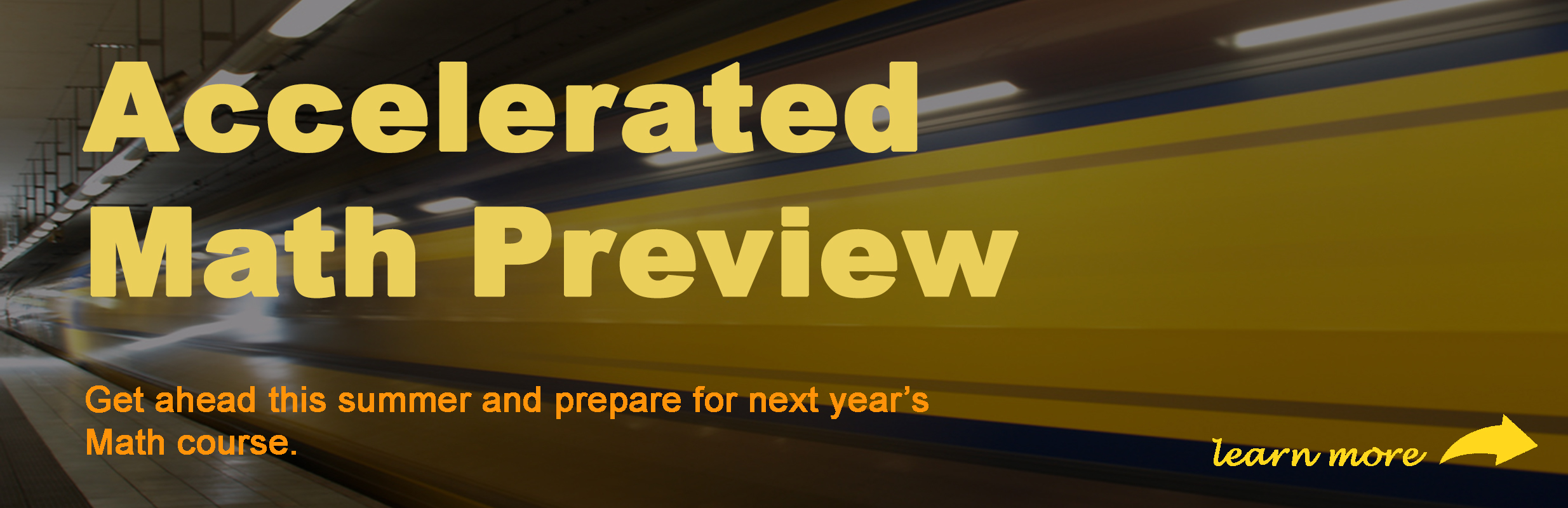Accelerated Math Preview